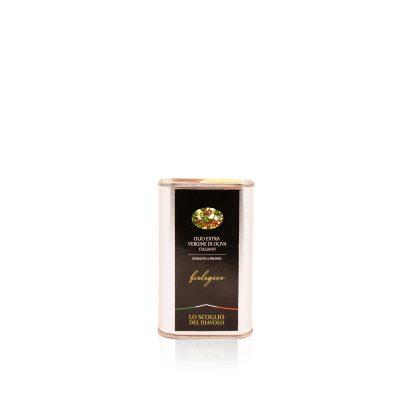 olio extra vergine di oliva lo scoglio biologico lattina 250ml