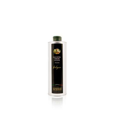 olio extra vergine di oliva lo scoglio biologico lattina 750ml