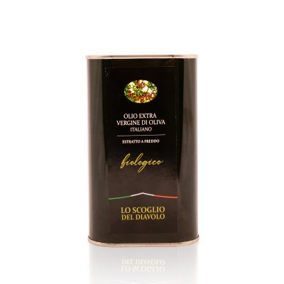 olio extra vergine di oliva lo scoglio biologico tanica 1 litro