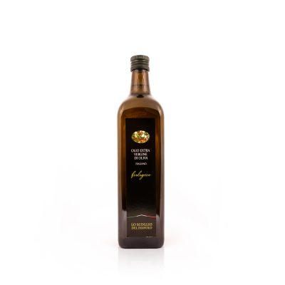 olio extravergine di oliva lo scoglio biologico 1L