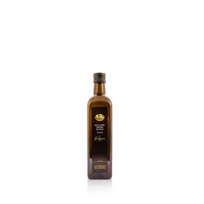 olio extravergine di oliva lo scoglio biologico 500ml bottiglia quadrata